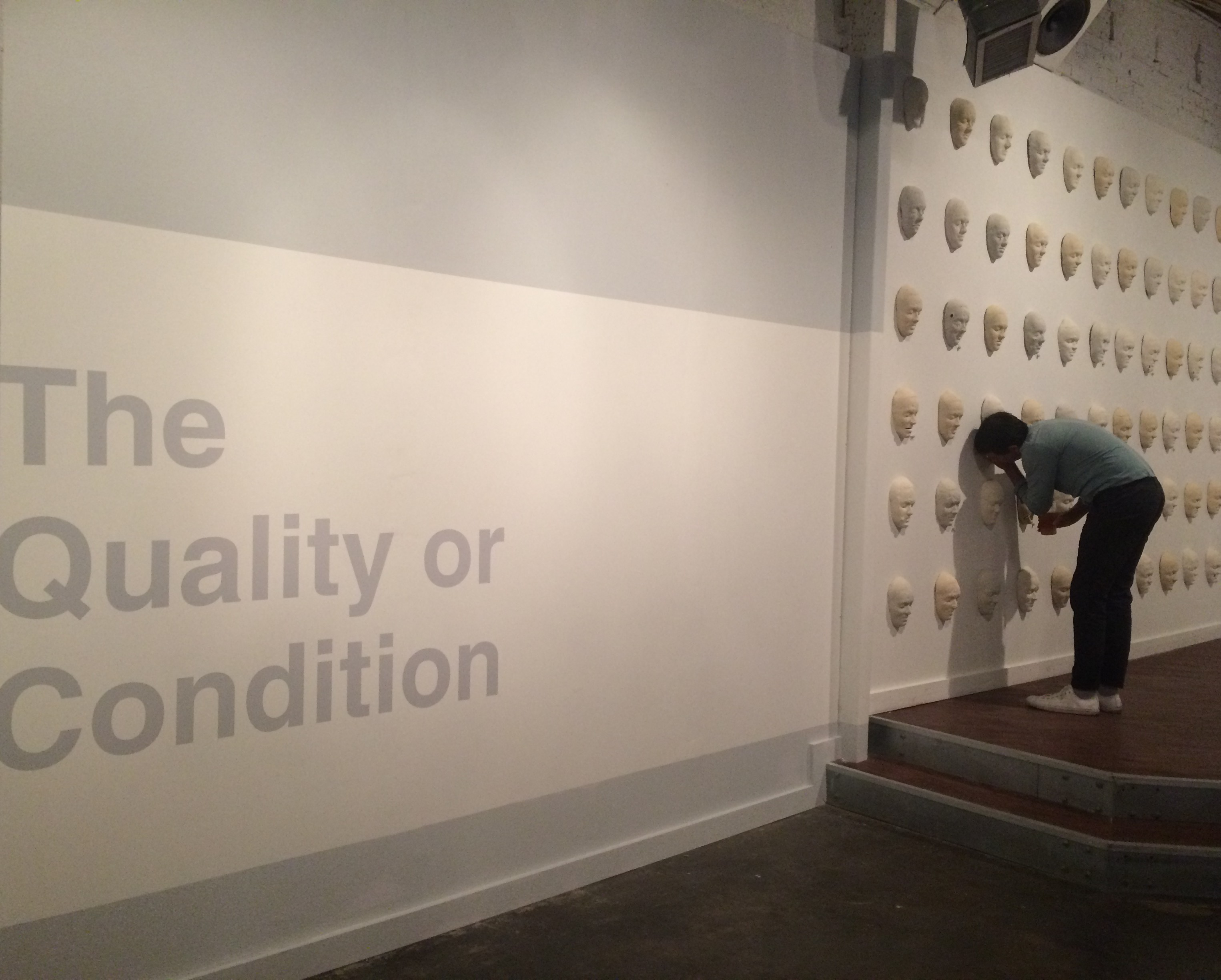 <em>The Quality or Condition, 2015</em><br/>@ Studium, Austin, TX
